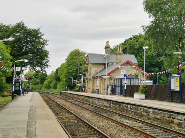 Chapel on le frith railway station