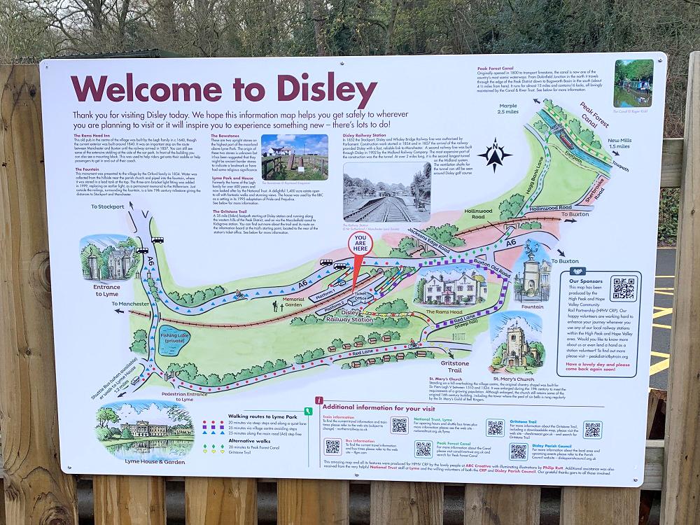 Disley walks panel