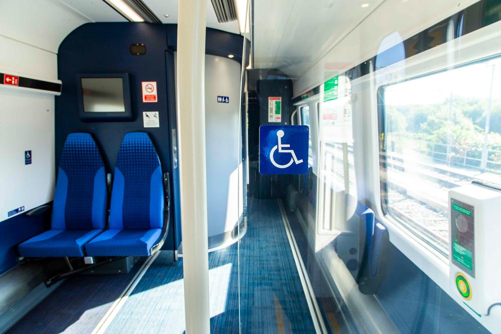 Accessible train travel peak district
