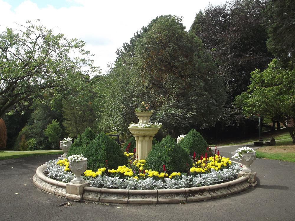 Howard park flower display