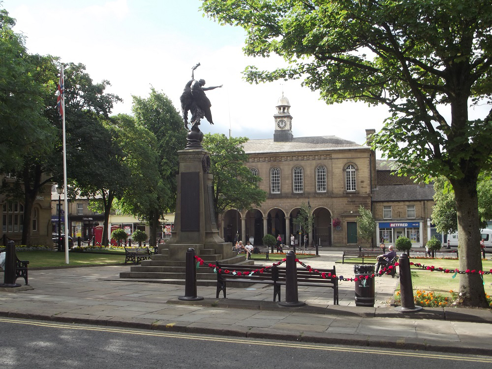 Norfolk Square and Market Hall, Glossop