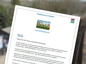 Newsletter image peak district by train